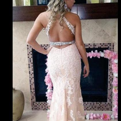Prom Dress,Lace Prom Dress,Mermaid ..