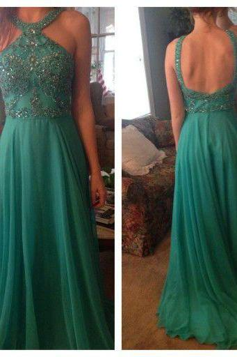 Teal Green Prom Gown Dress Long 2017 Prom Dress Cheap,Evening Dress,Formal Dress,Cocktail Dress,Party Dress,Graduation Dress Junior prom dress