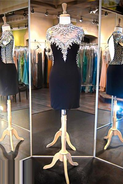 Black Prom Dress,Short Prom Dress,Straight Prom Dress,Backless Prom Dress, Sexy Prom Dress,Cheap Prom Dress,Prom Dress 2016,Spandex Prom Dress, Jersey Prom Dress, Cheap Homecoming Dress, 8th Grade Prom Dress,Holiday Dress,Black Evening Dress, Short Evening Dress,Formal Dress, Homecoming Dresses, Graduation Dress, Cocktail Dress, Party Dress