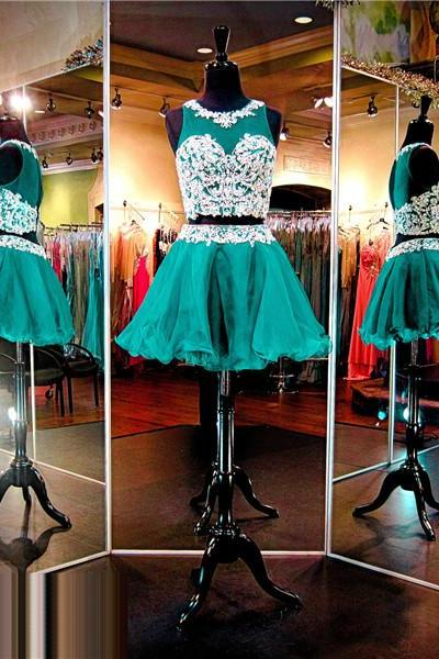 Green Prom Dress,Short Prom Dress,Junior Prom Dress,Cheap Prom Dress,Prom Dress 2016,Green Prom Dress, Sexy Prom Dress, Green Homecoming Dress, 8th Grade Prom Dress,Holiday Dress,Green Evening Dress, Short Evening Dress,Formal Dress, 2 Piece Homecoming Dresses, Graduation Dress, Cocktail Dress, Party Dress