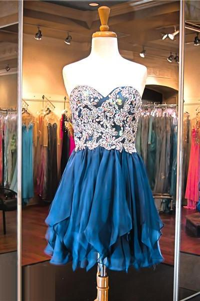 Navy Blue Prom Dress,Short Prom Dress,Junior Prom Dress,Cheap Prom Dress,Prom Dress 2016,Sparkle Prom Dress, Sexy Prom Dress,Prom Dress Short, Cheap Homecoming Dress, 8th Grade Prom Dress,Holiday Dress,Evening Dresses, Short Evening Dress,Formal Dress,Navy Blue Homecoming Dresses, Graduation Dress, Cocktail Dress, Party Dress
