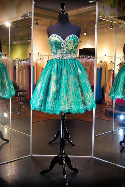 Green Prom Dress,Short Prom Dress,Junior Prom Dress,Cheap Prom Dress,Lace Prom Dress,Simple Prom Dress, Sexy Prom Dress, Green Homecoming Dress, 8th Grade Prom Dress,Holiday Dress,Green Evening Dress, Short Evening Dress,Formal Dress, Short Homecoming Dresses, Graduation Dress, Cocktail Dress, Party Dress