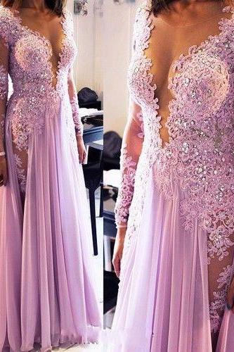 Long Sleeves Prom Dress,Lace Prom Dress,Lace Prom Dress,Sexy Prom Dress,Cheap Prom Dress,Lilac Prom Dress, Homecoming Dress, 8th Grade Prom Dress,Holiday Dress,Lilac Evening Dress, Long Evening Dress,Lace Evening Dress,Formal Dress, Long Homecoming Dresses, Graduation Dress, Cocktail Dress, Party Dress