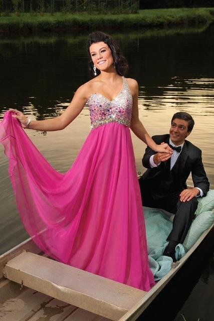 Prom Dresses, Hot Pink Prom Gown,One Shoulder Prom Dresses, Prom Dresses Long,Evening Gown, Evening Dress Pink,Formal Dress,Maxi Dress,Party Dress,Ball Gown,Cocktail Dress,Graduation Dress,