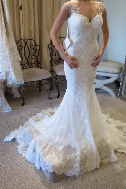 Mermaid Wedding Dress Lace, Wedding Gowns, Bridal Dresses, Bridal Gowns, Bride Dress, Dress for wedding, Cheap Wedding Dress, Custom Wedding Dress Plus size
