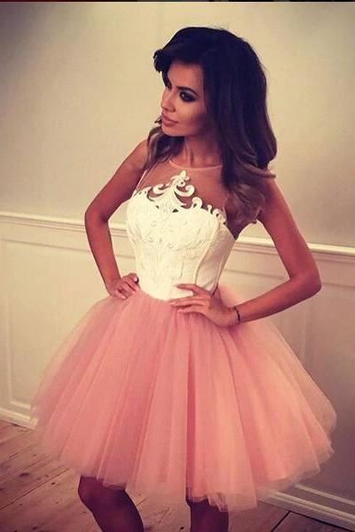 Prom Dress Pink,Short Prom Dress,Prom Dress,Prom Gown,Celibrity Dress,Cheap Prom Dress,Homecoming Dress, 8th Grade Prom Dress,Holiday Dress,Evening Dress Short,Formal Dress,Homecoming Dresses Pink, Graduation Dress, Cocktail Dress, Party Dress