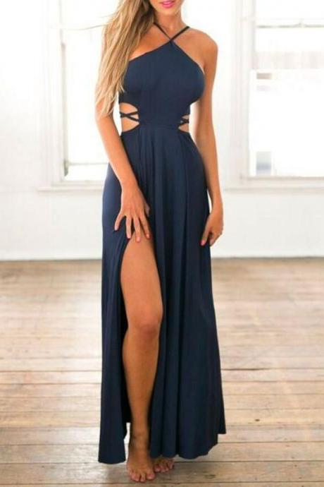 Dark Navy Blue Prom Dresses,Prom Gown Long,Cheap Prom Dress,Simple Prom Dress, Affordable Prom Dress,Junior Prom Dress,Dark Navy Blue Formal Evening Dresses Gowns, Party Dresses, Custom Plus size