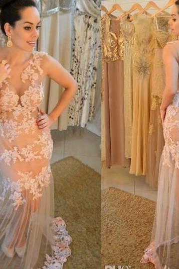 Prom Dress,Nude Prom Dress, Prom Gown,Illusion Prom Dress,Prom Dress Long,Prom Dress Sheath,Sexy Prom Dress,Prom Dress Cheap,Affordable Prom Dress,Junior Prom Dress,Formal Dress,Evening Dresses,Party Dress,Custom Plus size